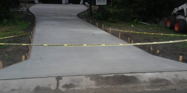 Cement Driveway 55305