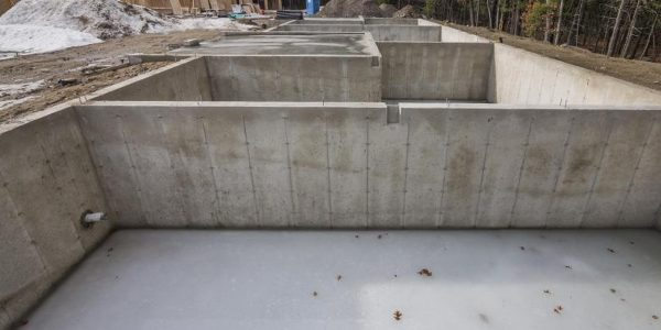 Concrete Wall Foundation